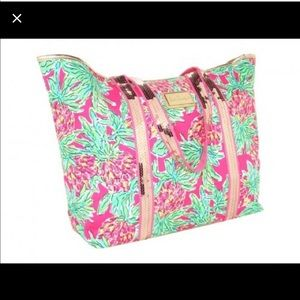 Lilly pulitzer sparkle tote in spike the punch